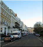 TQ3303 : Sussex Square, Kemp Town, Brighton by Simon Carey