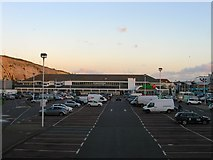 TQ3303 : Asda, Brighton Marina by Simon Carey