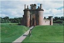 NY0265 : Caerlaverock Castle by Richard Sutcliffe