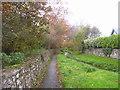 SN0402 : Carew Cheriton Church - footpath by welshbabe