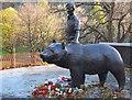 NT2573 : Wojtek the Bear by Jim Barton