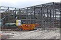 ST1899 : Construction of Islwyn High School, Oakdale by M J Roscoe