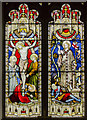 SK6754 : East window, St Michael's church, Halam by Julian P Guffogg