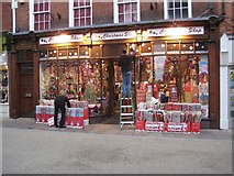 SO8554 : Christmas Shop by Philip Halling
