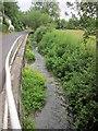 SU0325 : River Chalke at Cliff Side by Derek Harper