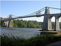 SH5571 : Menai Suspension Bridge, May 2005 by Stephen Mills