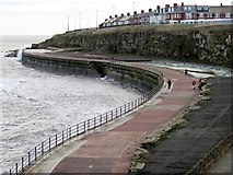 NZ3672 : Southern Promenade, Whitley Bay by Andrew Curtis