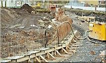 J3674 : Connswater path works, Belfast - November 2015(9) by Albert Bridge
