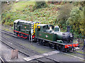 SO7192 : Severn Valley Railway - shunting the yard by Chris Allen