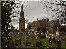 SD3727 : The parish church of St John the Divine by Ian Greig