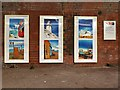 NZ3671 : 'Whitley Bay in Colour', Cullercoats Metro Station by Andrew Curtis