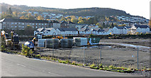 NS3174 : Retail development at Port Glasgow by Thomas Nugent