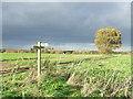 TM4788 : Footpath Junction by Keith Evans
