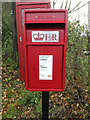 TM1678 : Horseshoes Postbox by Adrian Cable