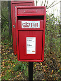 TM1678 : Horseshoes Postbox by Geographer