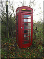 TM1678 : Telephone Box off the A143 Bungay Road by Geographer