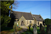 SK2566 : St Katherine's Church, Rowsley by Bill Boaden