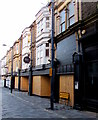 ST3188 : Boarded-up premises in Griffin Street, Newport by Jaggery
