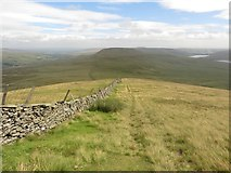 SE0076 : Path between Whernside and Little Whernside by Graham Robson