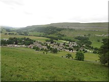 SD9772 : Looking down into Kettlewell by Graham Robson