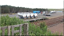 ND1559 : Yard, Georgemas Junction by Richard Webb