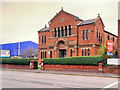 SJ8499 : The Spanish and Portuguese Synagogue on Cheetham Hill Road by David Dixon