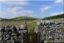 SD9772 : The Dales Way approaching Kettlewell by Tim Heaton