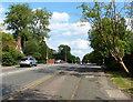 SP8734 : Watling Street in Fenny Stratford by Mat Fascione