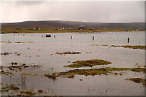 HP6308 : High tide at Ordaal, Baltasound by Mike Pennington