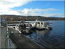 NS3882 : Boats near Balloch Pier by Lairich Rig