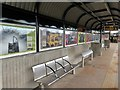 NZ3064 : Hebburn Metro Station (Platform 1) by Andrew Curtis