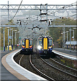 NS2875 : Trains at Greenock Central station by Thomas Nugent