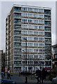 TQ3777 : Tower block, Evelyn Street, Deptford by Julian Osley