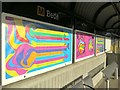 NZ3464 : 'Convergence', Bede Metro Station by Andrew Curtis