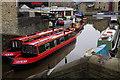 SD9851 : Narrowboats at Skipton by Stephen McKay