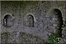 ST5394 : Chepstow Castle: South west tower interior 2 by Michael Garlick