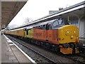 ST3088 : Diesel Locomotive at Newport Station by Robin Drayton