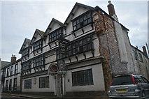 ST0207 : Cullompton : Manor Hotel by Lewis Clarke