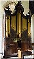 TA1311 : Organ, All Saints' church, Brocklesby by Julian P Guffogg