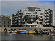 ST5772 : Bristol - View across Floating Harbour to Porto Quay by Colin Park