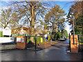 SK3671 : Entrance to Ashgate Croft School by Richard Dorrell