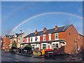 SK3671 : Ashgate rainbow by Richard Dorrell
