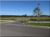 TL4259 : Spur off Charles Babbage Road by Hugh Venables