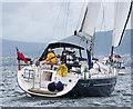 J3982 : Yacht 'Nebraska' off Holywood by Rossographer