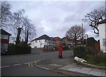 TQ1090 : Potter Street at the corner of Alandale Drive by David Howard