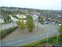 TG2407 : View from the Holiday Inn, Carrow Road, Norwich by Jeremy Bolwell