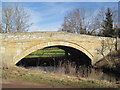 NU0302 : Road Bridge over the Wreigh Burn by Les Hull