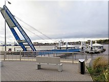 NZ3567 : South Shields Ferry Terminal by Andrew Curtis