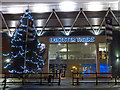 SK5803 : Christmas tree outside the Leicester Tigers by Mat Fascione
