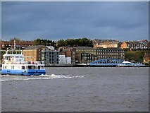 NZ3567 : Shields Ferry from South Shields by Andrew Curtis
